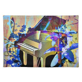 Flippiges Klavier Tischset