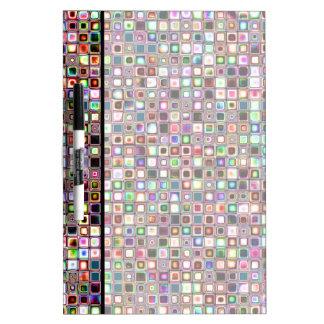 Flippiges Mosaik-Fliesen-Muster mit Juwel-Tönen Memo Boards