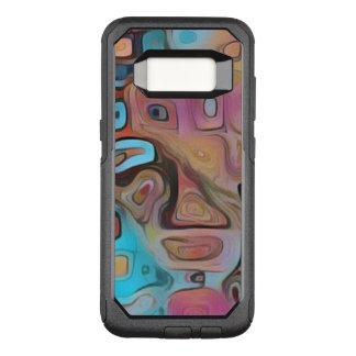 Flippiges Pastellpsychedelisches OtterBox Commuter Samsung Galaxy S8 Hülle