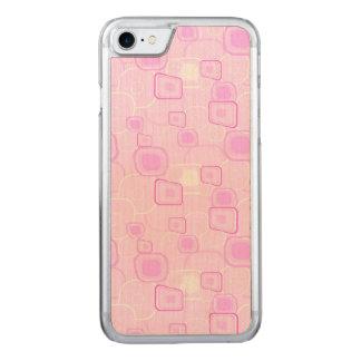 Flippiges Rosa Carved iPhone 8/7 Hülle