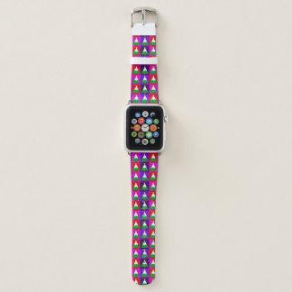 Flippiges Weihnachtsbaum-Muster Apple Watch Armband