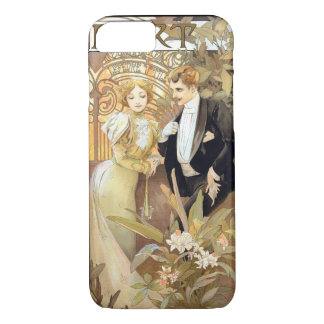Flirt Vintages Mucha iPhone 7 Hülle