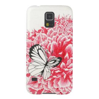 Flitter-Fliegen Schmetterling und Kasten der Samsung S5 Hülle