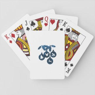 Flitter (Kunst) Spielkarten