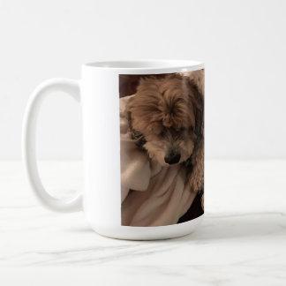 Flockige MyMutt Kaffee-Tasse großen Schlafens Kaffeetasse