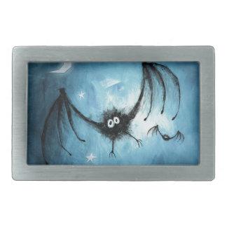 Flockiger Vampirs-Schläger Halloweens Rechteckige Gürtelschnallen