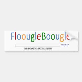 FloougleBoougle homepage Autoaufkleber