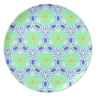 Floral kaleidoskope party teller