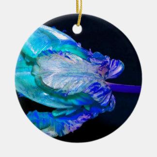Floral Still Life with Tulip Keramik Ornament