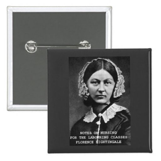 Florence Nightingale: Anmerkungen über Krankenpfle Button