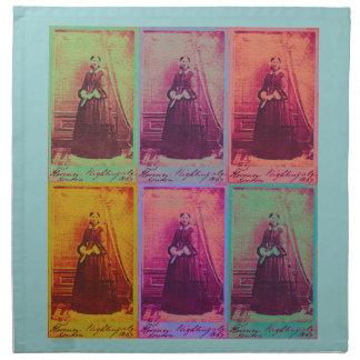 Florence Nightingale-Farben Serviette
