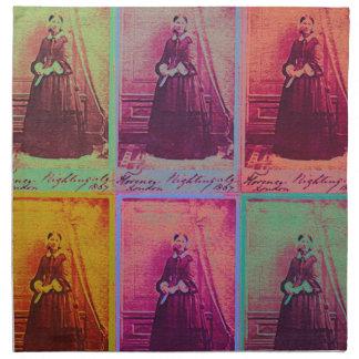 Florence Nightingale-Farben Stoffserviette