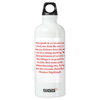 Florence Nightingale Wasserflasche