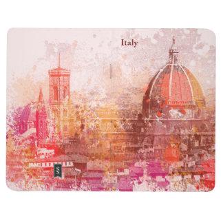 Florenz - Basilika von Heiliger Maria u. von Taschennotizbuch