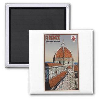 Florenz - der Duomo Quadratischer Magnet