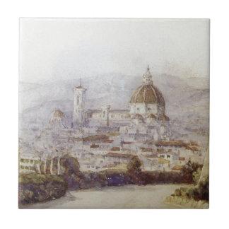 Florenz durch Vasily Surikov Keramikfliese