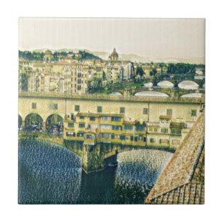 Florenz in der Kunst Fliese