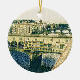 Florenz in der Kunst Keramik Ornament