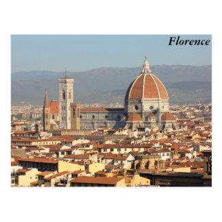 Florenz, Italien Postkarte