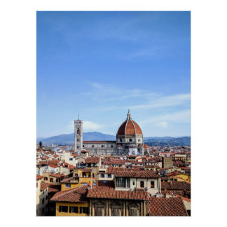 Florenz-Kathedrale (Duomodi Firenze) Poster