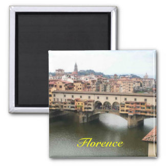 Florenz-Kühlschrankmagnet Quadratischer Magnet