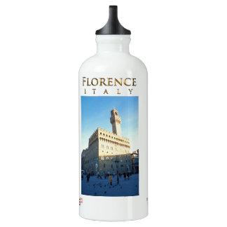 Florenz - Marktplatz della Signoria Aluminiumwasserflasche