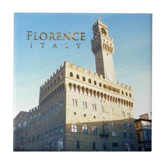 Florenz, Marktplatz della Signoria Fliese
