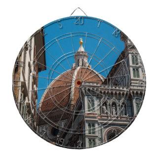 Florenz oder Firenze Italien Duomo Dartscheibe