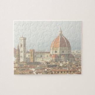 Florenz oder Firenze Italien Duomo Puzzle