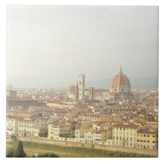 Florenz- oder Firenzeitalien Stadtbild Keramikfliese