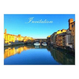 Florenz - Ponte Vecchio 12,7 X 17,8 Cm Einladungskarte