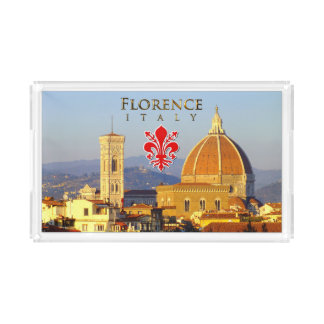 Florenz - Santa Maria Del Fiore Acryl Tablett