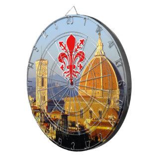 Florenz - Santa Maria Del Fiore Dartscheibe