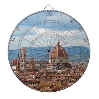 Florenz-Stadt-Skyline Dartscheibe