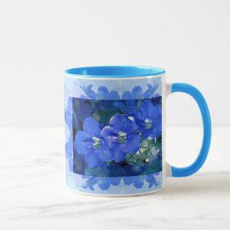 """""""Flores Azuis"""" (blaue Blumen) Tasse"""
