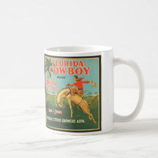 Florida-Cowboy Kaffeetasse