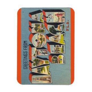Florida, Daytona- Beachmagnet Vinyl Magnet