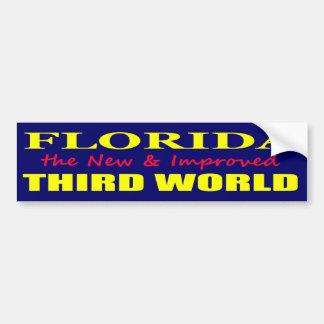 Florida die neue u. verbesserte DRITTE Welt Autosticker