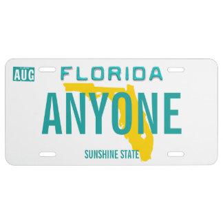 Florida-Gewohnheits-Kfz-Kennzeichen US Nummernschild