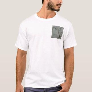 Florida-Karten-T - Shirt 1823