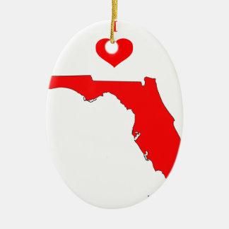 Florida Keramik Ornament