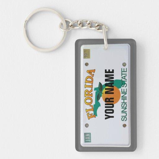 Florida-Kfz-Kennzeichen Schlüssel Anhänger