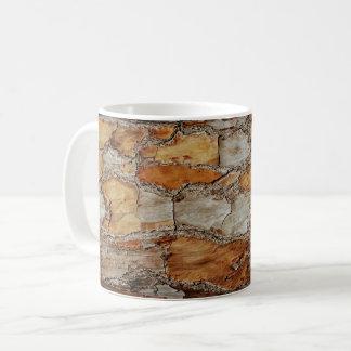 Florida-Kiefer-Barken-Entwurf Kaffeetasse