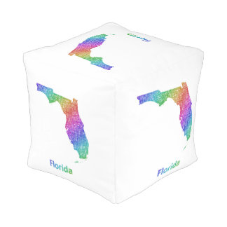Florida Kubus Sitzpuff