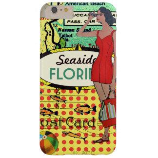 Florida-Küste, die retro badenAnzug der Schönheit Barely There iPhone 6 Plus Hülle