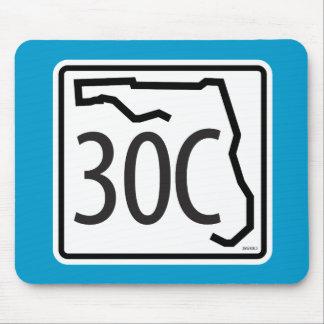 Florida-Landstraßen-Zeichen Mousepad