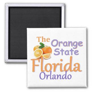 FLORIDA-Magnet Quadratischer Magnet