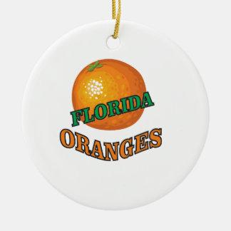 Florida-Orangen Keramik Ornament