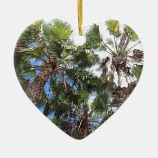 Florida-Palmen Keramik Ornament