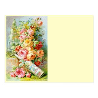 Florida-Parfüm-Wasser mit Kohl-Rosen Postkarte